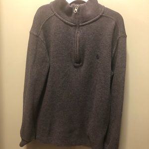 Boys Polo Mock Neck Sweater